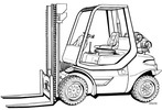Thumbnail Linde LPG Forklift Truck 352 Series: H35, H40, H45 Operating Manual (User Manual)