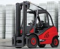 Thumbnail Linde Diesel Forklift Truck H-Series Type 394: H40D, H45D, H50D Operating Instructions (User Manual)