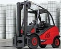 Thumbnail Linde Diesel Forklift Truck H-Series Type 394-02: H40D-02, H45D-02, H50D-02 Operating Instructions (User Manual)