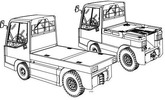 Thumbnail Linde Electric Tractor Type 127: P250, W20 Operating Instructions (User Manual)