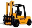 Thumbnail Still Diesel Fork Truck R70-60 R70-70, R70-80 Series: R7044, R7045, R7046 Workshop Manual