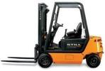 Thumbnail Still Diesel Fork Truck R70-16, R70-18, R70-20 Series: R7094, R7095, R7096 Operating and Maintenance Instructions
