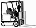 Thumbnail Yale Forklift Truck Type AG, BG (A814): ERC030, ERC040 Workshop Manual