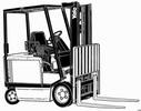 Thumbnail Yale Forklift Truck Type AG, BG (A814): ERC030, ERC040 Workshop Manual