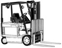 Thumbnail Yale Forklift Truck Type RG, ZG (E108): ERC040, ERC050, ERC060, ERC065 Workshop Manual