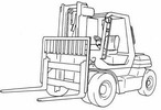 Thumbnail Toyota IC-Engined Forklift Truck Type 5FD50, 5FD60, 5FD70, 5FD80, 5FG50, 5FG60 Workshop Service Manual