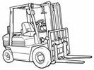 Thumbnail Toyota Diesel Forklift Truck 5FD10, 5FD14, 5FD15, 5FD18, 5FD20, 5FD23,  5FD25, 5FD28, 5FD30 Workshop Service Manual