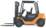 Thumbnail Still Diesel Fork Truck Type R70-35, R70-40, R70-45:  R7048, R7049, R7050 Parts Manual