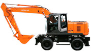 Thumbnail Hitachi Hydraulic Excavator Zaxis 140W-3, 170W-3, 190W-3, 210W-3 Operating and Maintenance Instructions