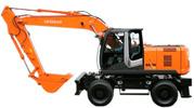 Thumbnail Hitachi Hydraulic Excavator Zaxis 140W-3, 170W-3, 190W-3, 210W-3 Operating and Maintenance Instructions