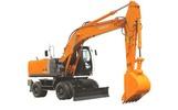 Thumbnail Hitachi Wheeled Hydraulic Excavator Type 210W-3, 220W-3 Workshop Service Manual