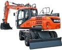 Thumbnail Doosan Wheeled Excavator Type DX170W S/N: 5001 and Up Workshop Service Manual