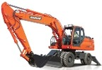 Thumbnail Doosan Wheeled Excavator Type DX190W S/N: 5001 and Up Workshop Service Manual