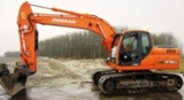 Thumbnail Doosan Crawler Excavator Type DX180LC S/N: 5001 and Up Workshop Service Manual