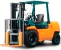 Thumbnail Toyota IC-Engined ForkliftTruck 7FG35/40/45, 7FD35/40/45, 7FGK40, 7FDK40, 7FGA50, 7FDA50 Operating Instructions