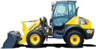 Thumbnail Komatsu Wheel Loader WA90-5 sn: H50051 and up Workshop Service Manual