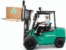 Thumbnail Mitsubishi Diesel Forklift Truck FD20HS, FD25HS, FD30HS Workshop Service Manual