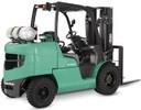 Thumbnail Mitsubishi Gasoline/LPG Forklift Truck FG40N, FG45N, FG50N, FG50CN, FG55N Workshop Service Manual