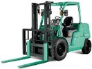 Thumbnail Mitsubishi Diesel Forklift Truck FD40N, FD45N, FD50CN, FD50N, FD55N Operating and Maintenance Instructions