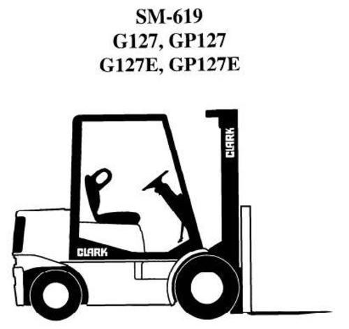 clark lpg forklift truck type g127 gp127 g127e gp127e gcs gcx g rh tradebit com