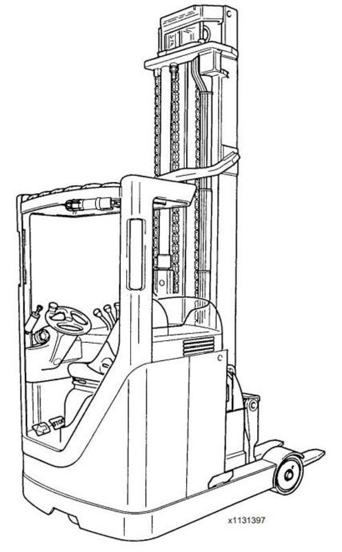 Pay for Linde Reach Truck 113 Ser. Electrical Schematic R14/R16/R20