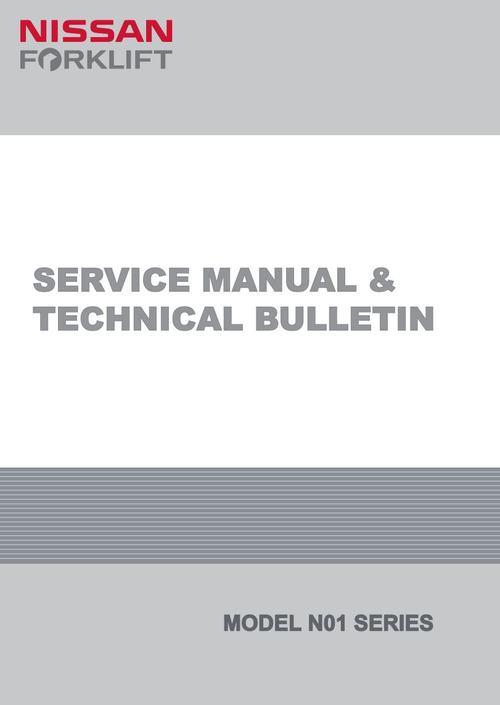 nissan forklift n01 series service repair workshop manual downlo rh tradebit com Nissan Forklift Shop Manual Nissan 50 Propane Forklift Manual