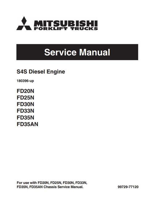 mitsubishi s4s diesel engine service repair manual download manua rh tradebit com mitsubishi 4m50 engine service manual mitsubishi 4g64 engine service manual pdf