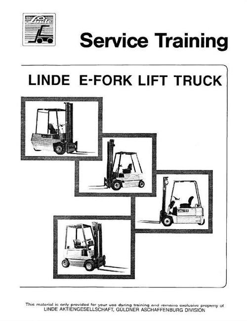 service manuals for linde e10 e12 e14 e15 e16 e20 e25 e30 fo rh tradebit com