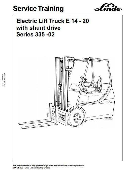 Electric Forklift Maintenance Manual Toyota Electric Forklift Truck