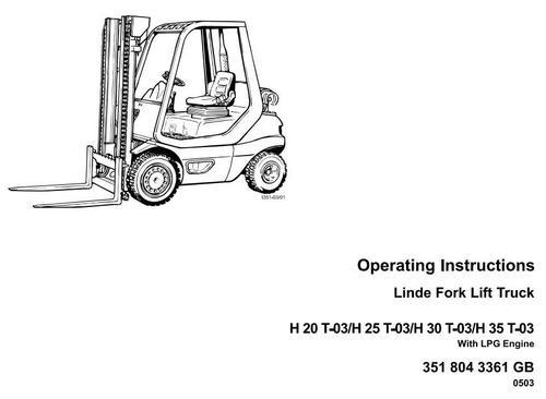 Linde lpg forklift truck 351 03 series h20 h25 h30 h35 operatin pay for linde lpg forklift truck 351 03 series h20 h25 h30 cheapraybanclubmaster Choice Image