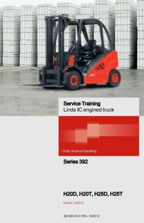 Linde H20 Services Manual