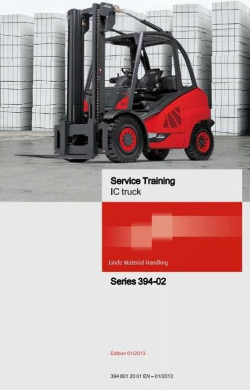 Pay for Linde Forklift Truck H-Series Type 394-02: H40, H45, H50 Service Training (Workshop) Manual