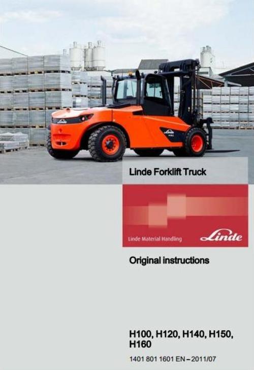 Free Linde Forklift Truck H 1401 Series: H100, H120, H140, H150