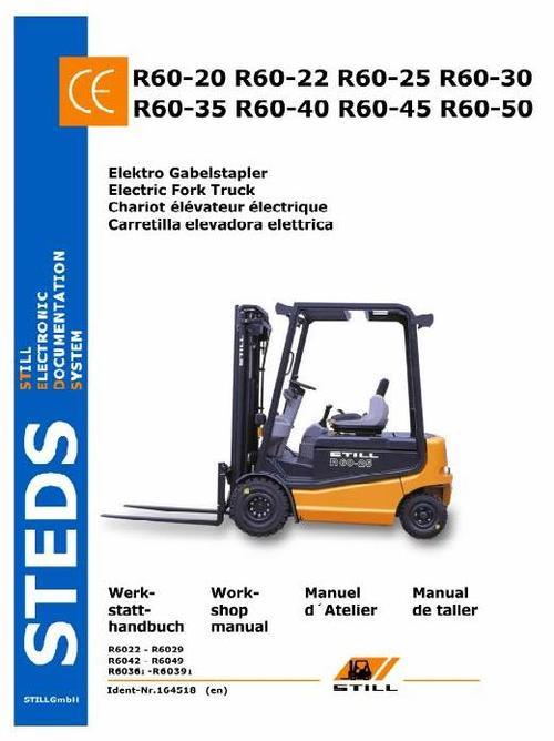 Free Still Electric Fork Truck R60 20 R60 22 R60 25 R60 border=