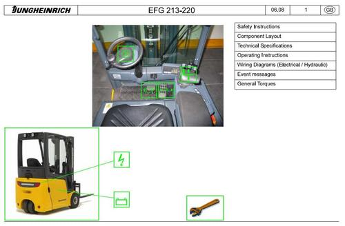 jungheinrich electric lift truck efg series 213 215 216 216k 2 pay for jungheinrich electric lift truck efg series 213 215 216
