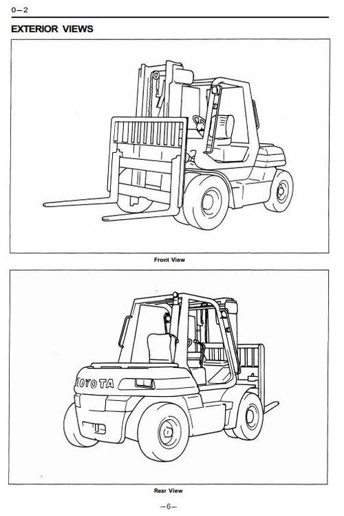 toyota forklift engine diagram 2000 toyota camry engine diagram toyota ic-engined forklift truck type 5fd50, 5fd60, 5fd70 ...