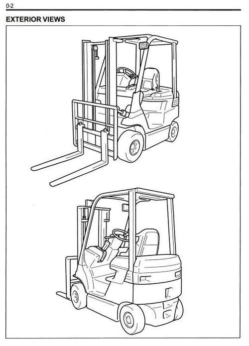 Superb Pay For Toyota Forklift Truck 7FB10, 7FB14, 7FB15, 7FB18, 7FB20, 7FB25