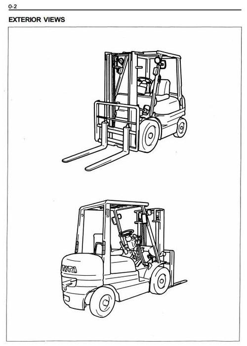 Pay for Toyota LPG Forklift Truck: 6FG10, 6FG14, 6FG15, 6FG18, 6FG20, 6FG23, 6FG25, 6FG28, 6FG30 Workshop Service Manual