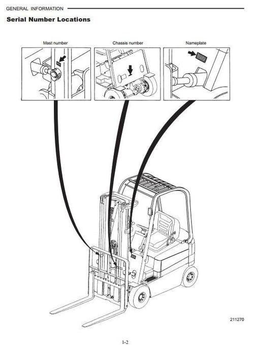 Pay for CAT Electric Forklift Truck EP16N, EP18N, EP20CN Workshop Service Manual