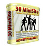 Thumbnail 30 Mini Site Templates MRR