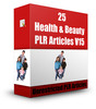 Thumbnail 25 Health & Beauty PLR Articles V15