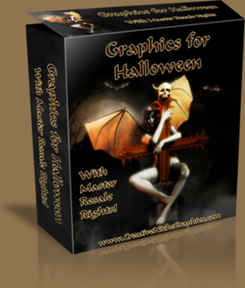 Pay for Halloween Graphics Package with MRR