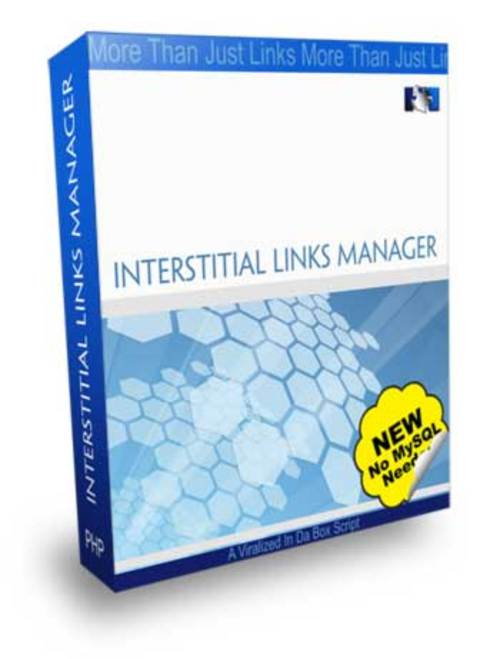 Pay for Interstitial Links Manager With MRR