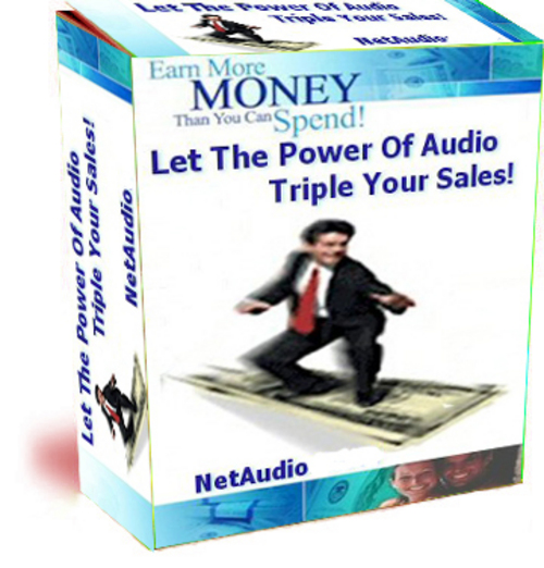 Pay for Net Audio Pro - Let The Power Of Audio Triple Your Sales
