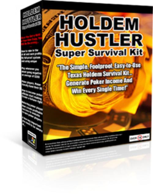Pay for Holdem Hustler Super Survival Kit