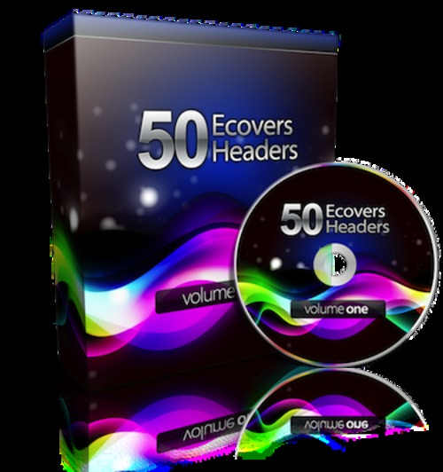 Pay for 50 eCovers & Headers Design Package - Graphics Package