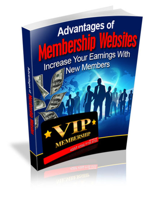 Pay for Advantages Of Membership Websites