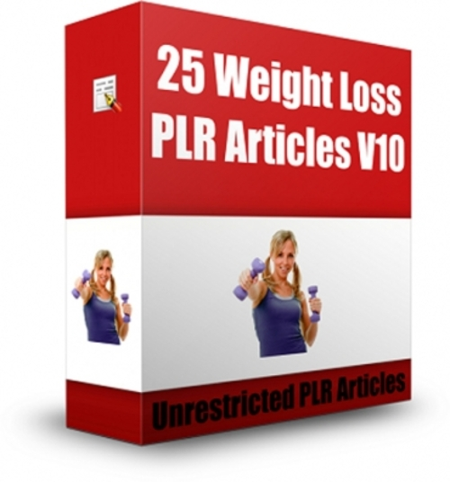 Pay for 250 PLR Articles Losing Weight & Surprise Freebies