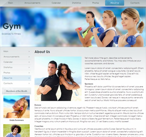 Pay for Gym Fitness Website Templates, PLR Included!