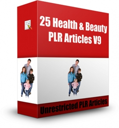 natural health and wellness plr articles